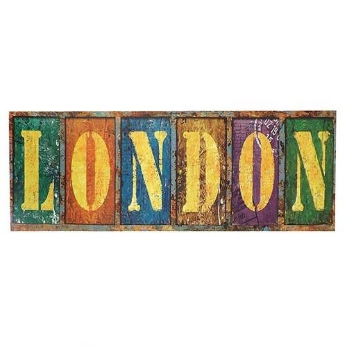 Tela London -  Impressão Digital - 90x30 cm