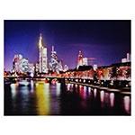 Tela Metrópole River com LEDs Fullway - 120x158 cm