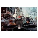 Tela Movie Batman and Robin Front Car em Madeira - Urban - 70x50 cm