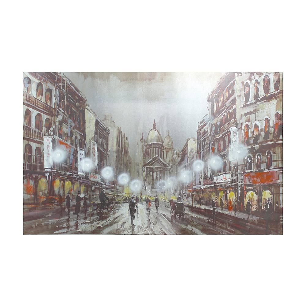 Tela a Óleo Night Walk Oldway - 160x100 cm