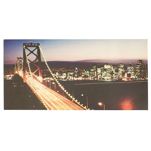 Tela Ponte New York - Impressão Digital - 60x30 cm