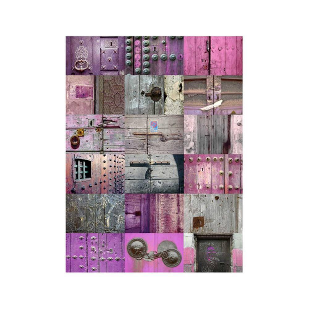 Tela Portões Colorida em MDF - Urban - 80x60 cm