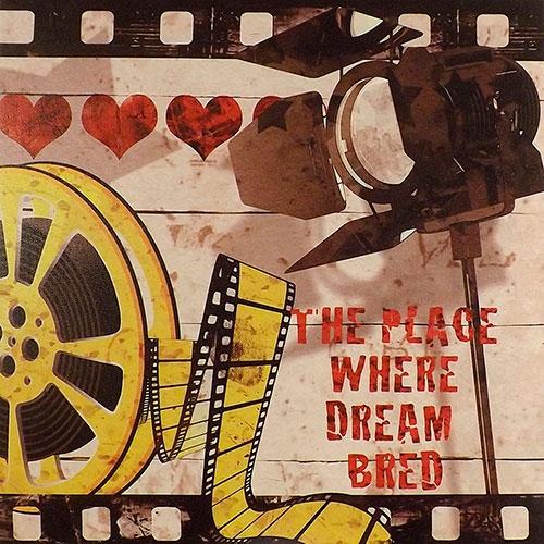 Tela The Place Where Dream Bred - Impressão Digital - 40x40 cm