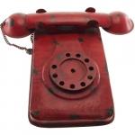 Telefone grande vermelho