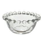 Tigela Pearl Pequena Transparente em Vidro