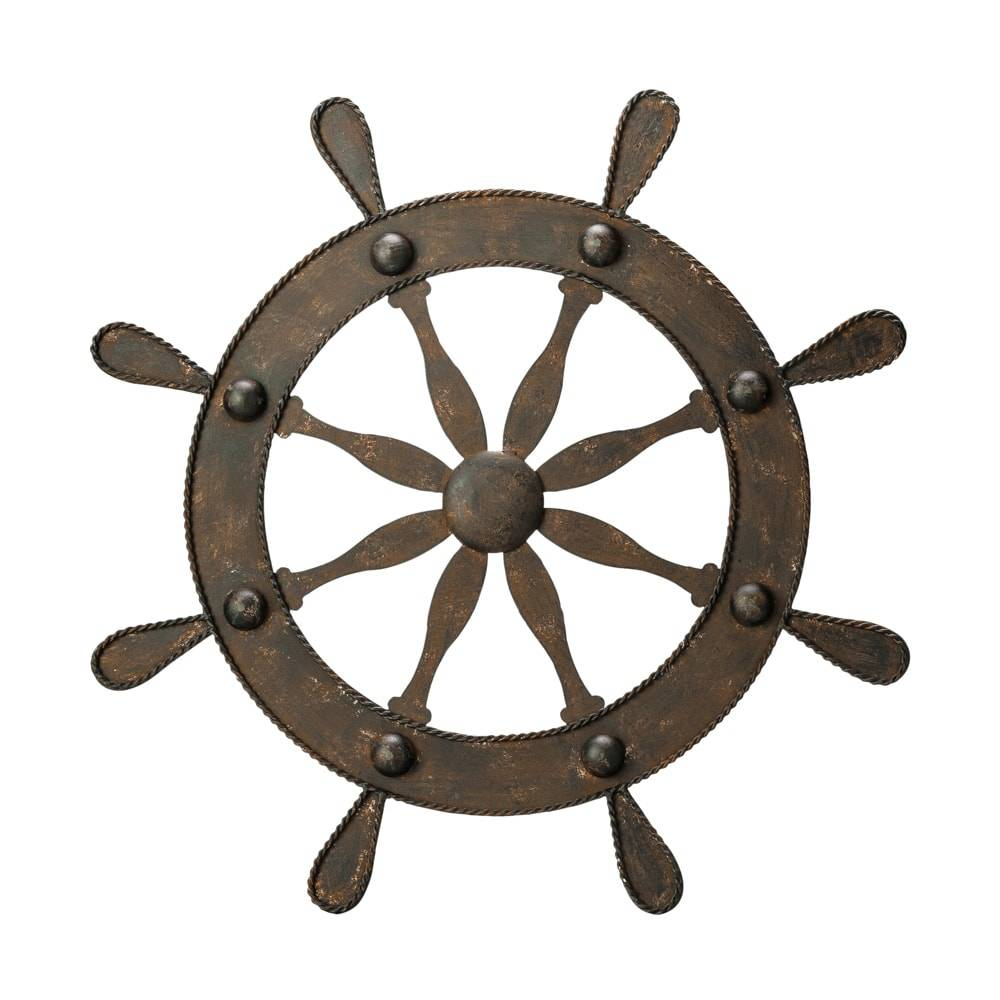Timão Decorativo em Ferro - Lyor Classic - 60 cm