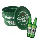 Tonel para Bar Heineken Verde - 40x30 cm