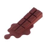 Aparador de Porta Barra de Chocolate Preto em Silicone