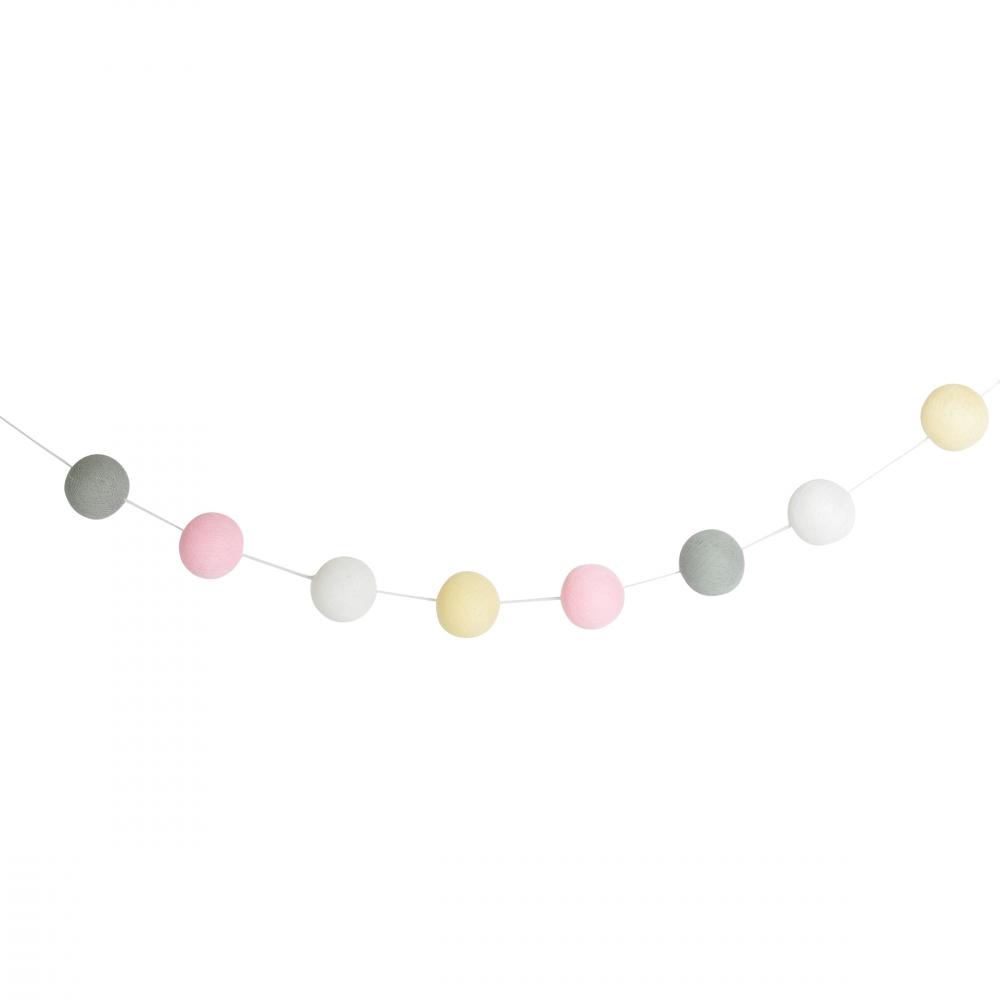 Varal Decorativo Baby Girl - Doha 24 bolas