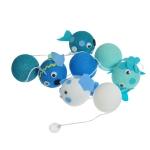 Varal Decorativo Peixinhos 24 bolas
