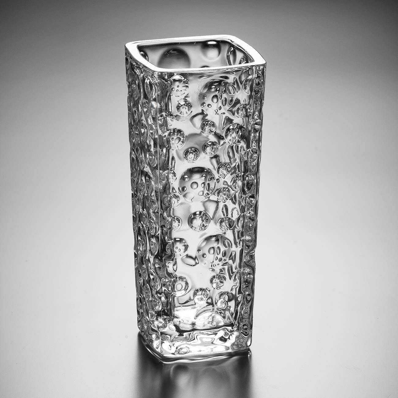 Vaso Bubble Bud em Cristal - Wolff - 15,6 cm