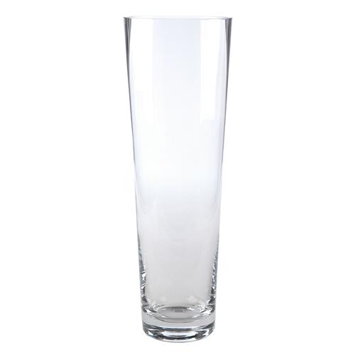 Vaso Alto Tradicional Transparente em Vidro - 50x16 cm