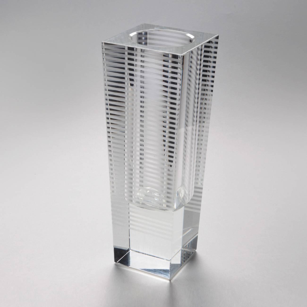 Vaso Arcade Transparente em Vidro - Prestige - 26 cm