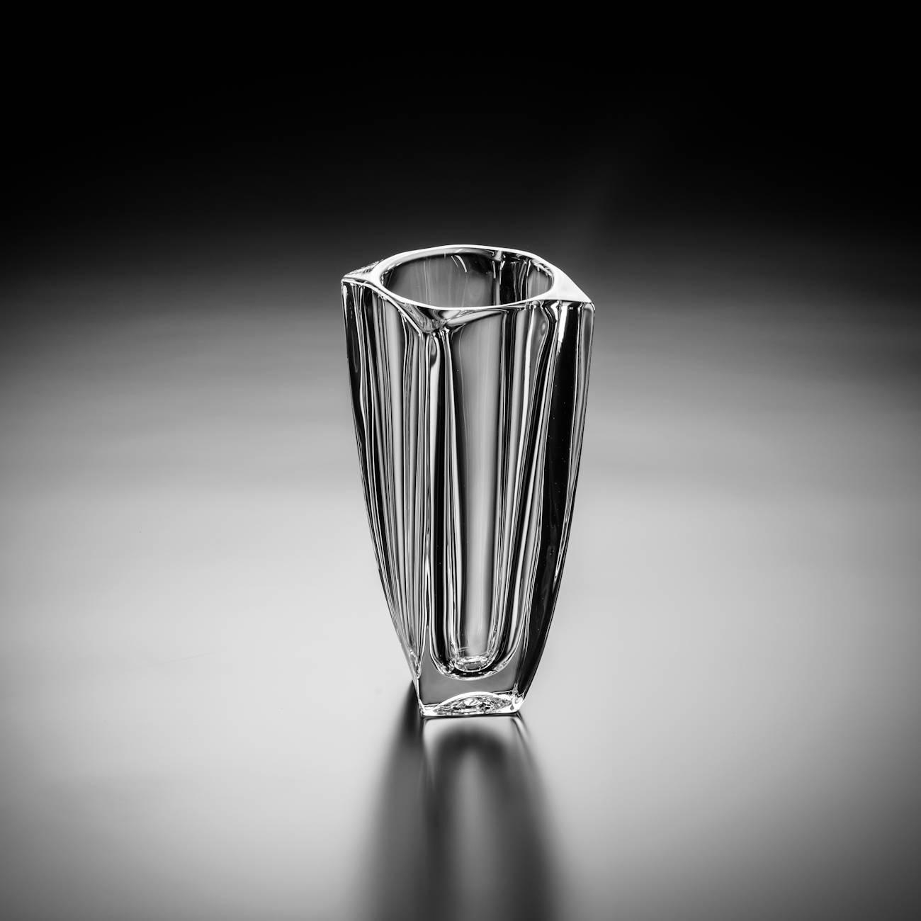 Vaso Arezzo em Cristal - Bohemia Crystalite - 28 cm