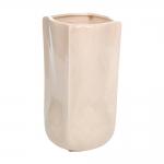Vaso Bag Creme em Cerâmica - 30x17 cm
