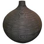 Vaso Bojudo em Rattan Grande Greenway - 57x56 cm