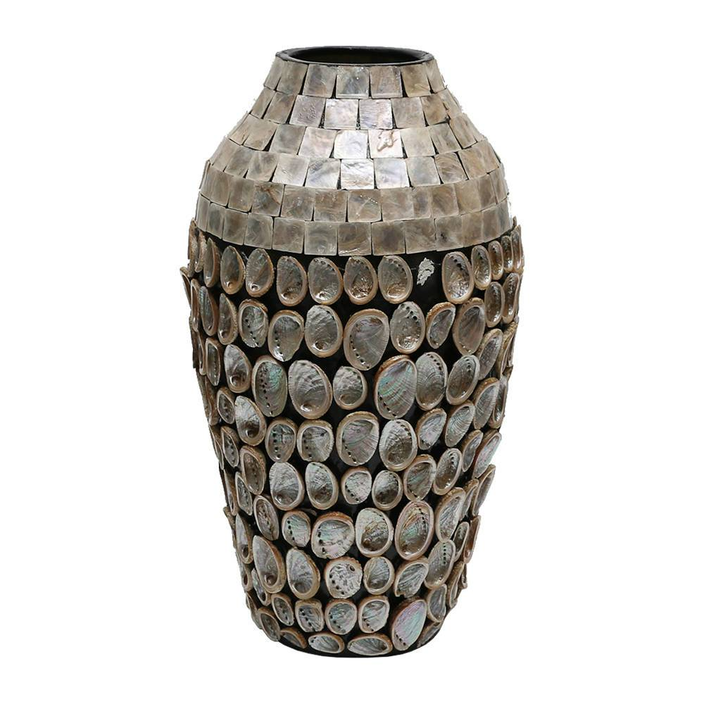Vaso Carpi Shell Bege Grande - Prestige - 56 cm