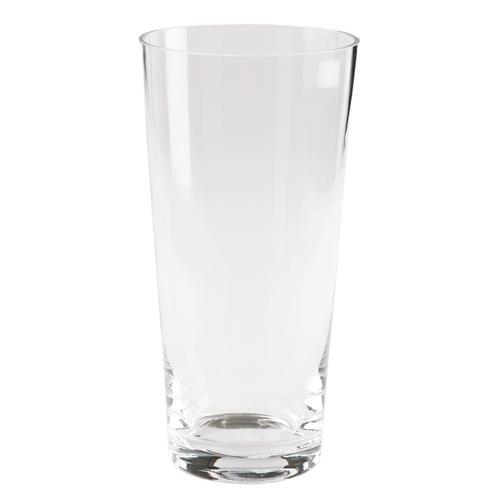 Vaso Classic Glass Transparente em Vidro - 28x14 cm
