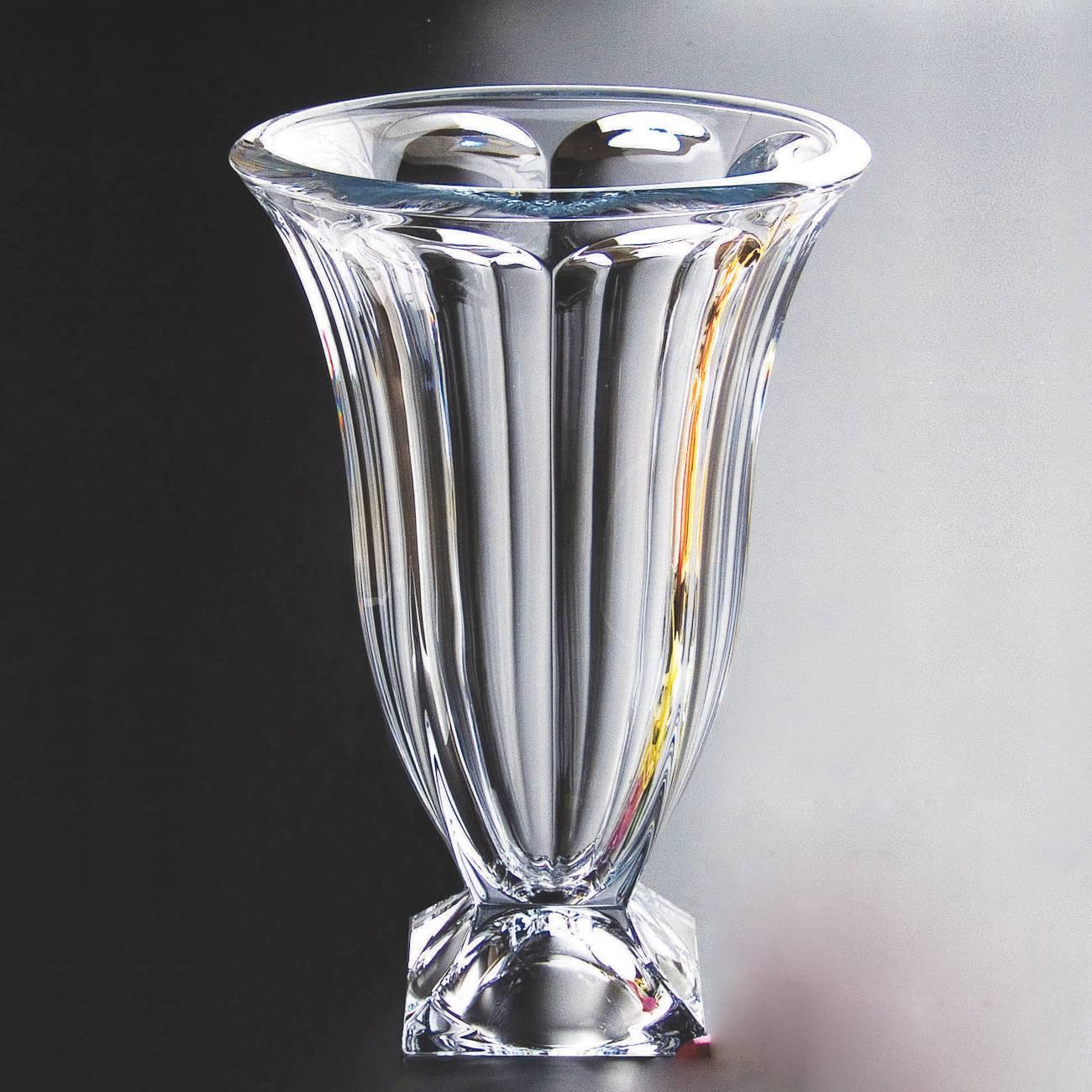 Vaso Arcade em Cristal - Bohemia Crystalite - 36 cm