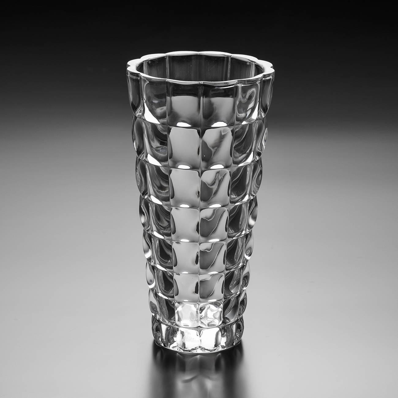 Vaso Bubble em Cristal - Wolff - 28 cm