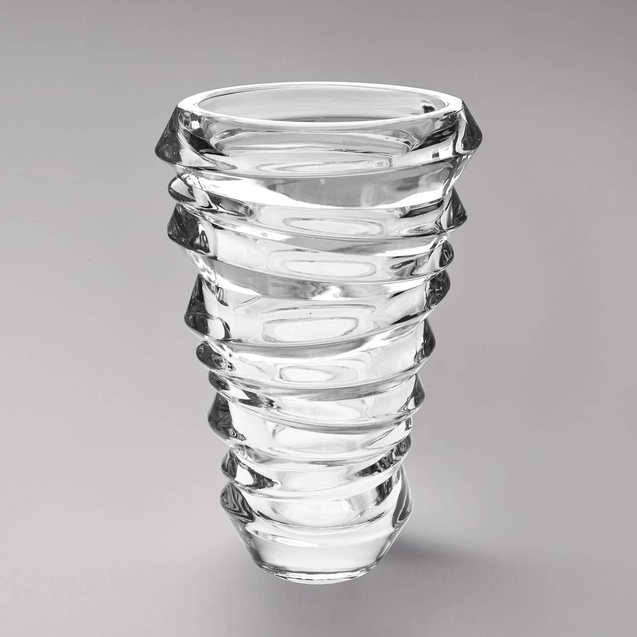 Vaso Reflections em Cristal - Wolff - 24 cm