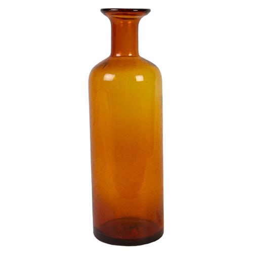 Vaso Decorativo Jar Grande em Vidro - 37x12 cm