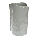 Vaso Decorativo Mof Cinza em Cerâmica