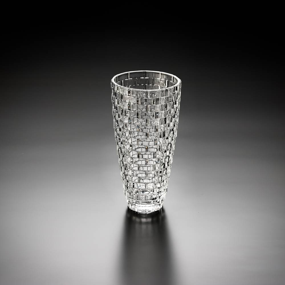 Vaso Palazzo Grande em Cristal - Wolff - 30 cm