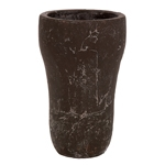 Vaso Lana Redon Marrom em Cerâmica