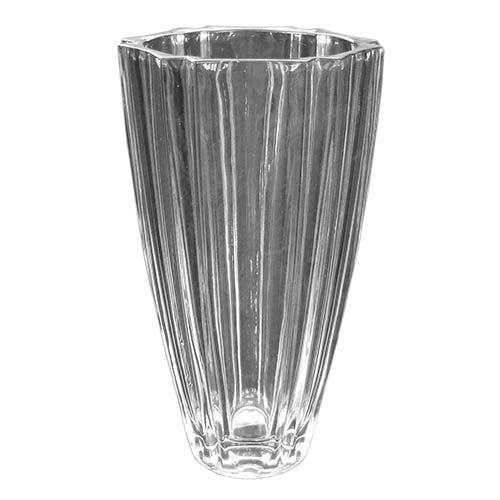 Vaso Lausanne Grande em Vidro - 27,5x15 cm