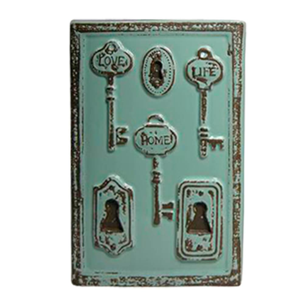 Vaso Le Cle Tree Keys Grande Verde em Cerâmica - Urban - 28x18,5 cm