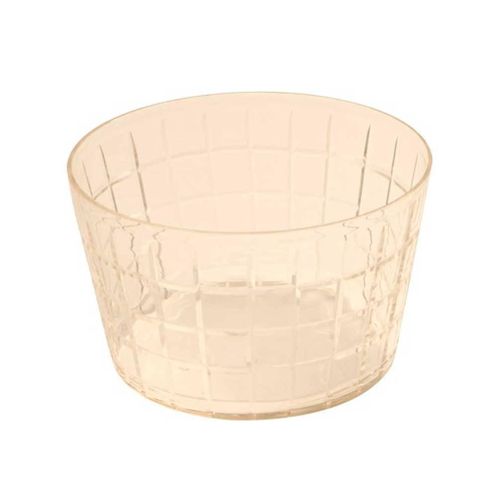 Vaso Monise em Vidro com Relevo - Pequeno - 25x16 cm