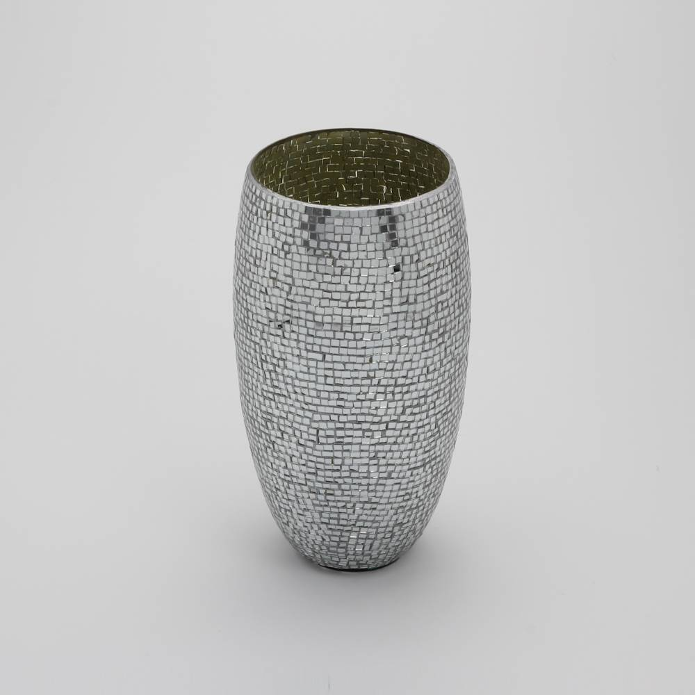 Vaso Mosaico em Vidro - Prestige - 29 cm
