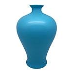 Vaso Pacific Azul em Cerâmica - 34x22 cm