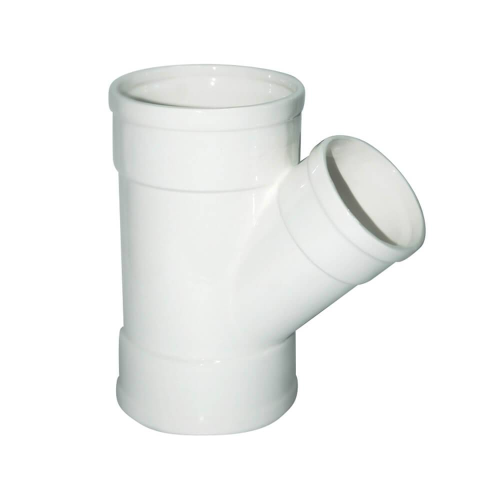 Vaso Plumber Connection 2 Saídas Branco em Cerâmica - Urban - 20x11,6 cm
