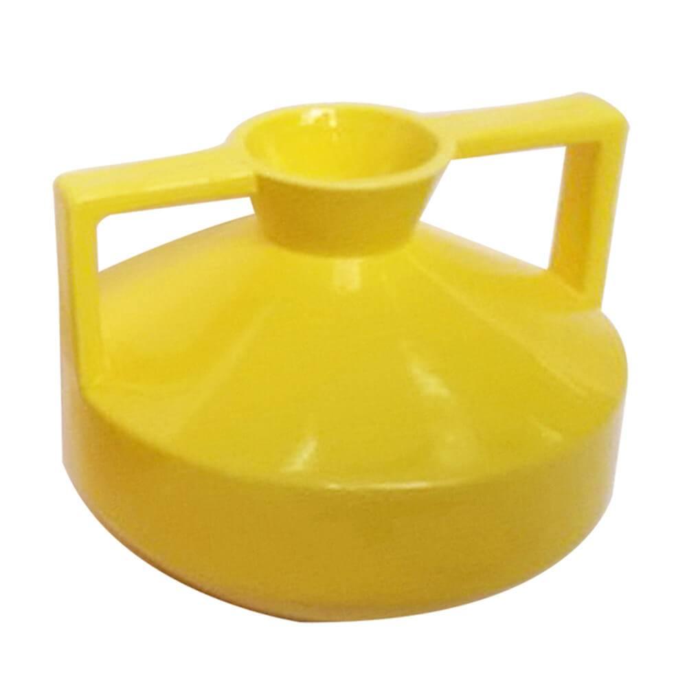 Vaso Spotlight Amarelo Pequeno em Cerâmica - Urban - 18,7x14,5 cm