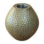 Vaso Valby Bege em Cerâmica
