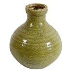 Vaso Verde Rhodes em Cerâmica - 19x16 cm