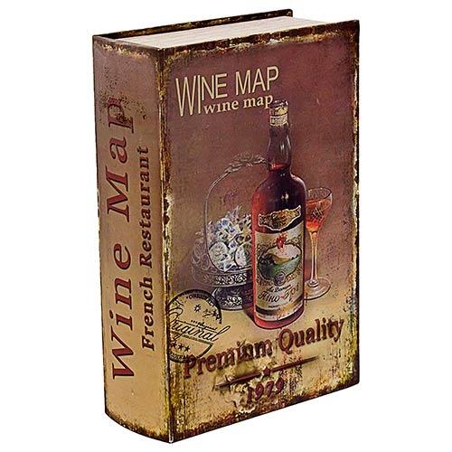 Caixa para Vinhos - 2 Garrafas - Premium Quality Oldway em Madeira - 42x28 cm
