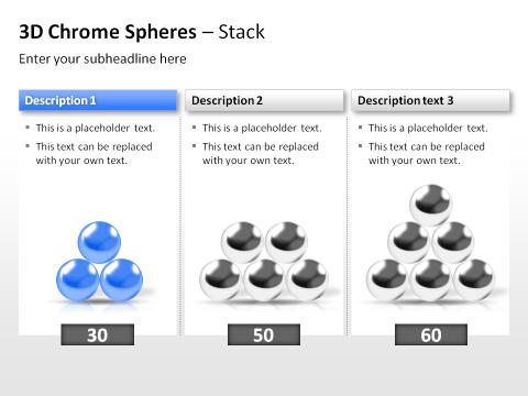 3D Spheres 85