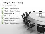 Checklist 60