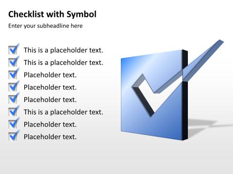 Checklist 75