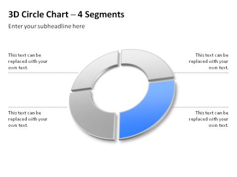 Segmented 3D Circle 26