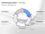 Circle Process Arrows 11