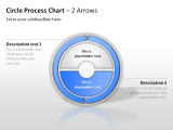 Circle Process Arrows 19