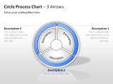Circle Process Arrows 20