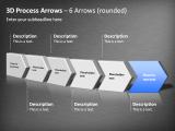 3D Process Arrows 12
