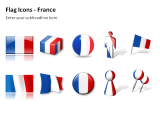 Flag Icons - France 1