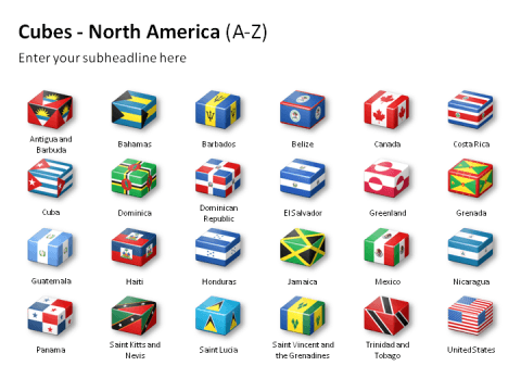 Cubes - North America