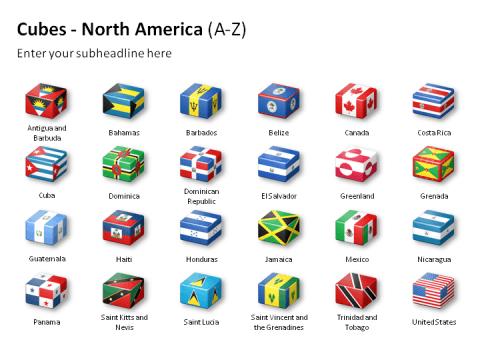 Cubes - North America